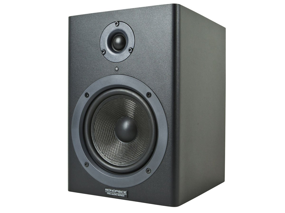 Monoprice Stage Right 5-inch Powered Studio Multimedia Monitor Speakers (pair) - (605500) by Monoprice (Image #2)