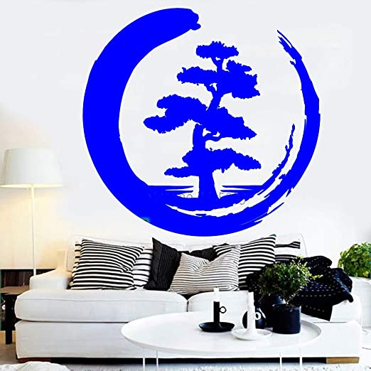 zqyjhkou Meditación Zen Style Design Large Tree Vinyl Wall ...