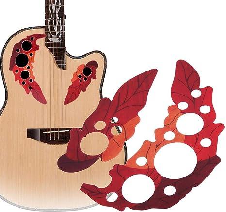 Guitarra acústica Pickguard Scratch Plate Etiqueta autoadhesiva ...