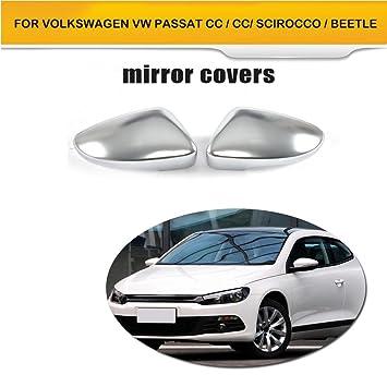 jcsportline aejc-xm016 carcasa espejo retrovisor cromado para Passat CC Scirocco Escarabajo: Amazon.es: Coche y moto