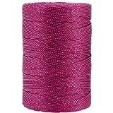 Iris 18-489 Nylon Crochet Thread, 197-Yard, Fuchsia: more info