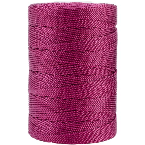 Iris 18-489 Nylon Crochet Thread, 197-Yard, Fuchsia ()