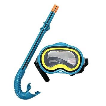MIAO Kit de snorkel Buceo Equipo de buceo buceo Niños buceo Máscara de espejo gafas de