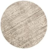 Loloi Rugs Kingston Collection KGSTKT-03NE00930R Round Area Rug, 9' 3'' x 9' 3'', Neutral