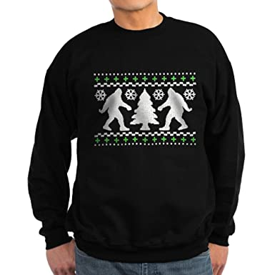 Amazon.com: CafePress - Ugly Holiday Bigfoot Christmas Sweater ...