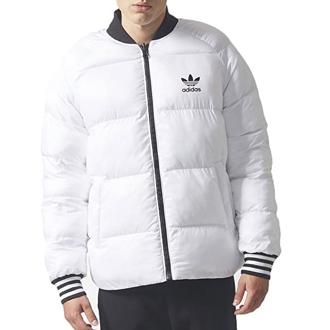3982f5e98ee3 adidas Originals Men s Superstar Reversible Jacket White Large ...