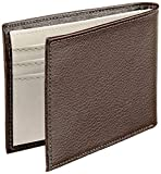 Pellcaso Wallet For Men With Money Clip-Brown