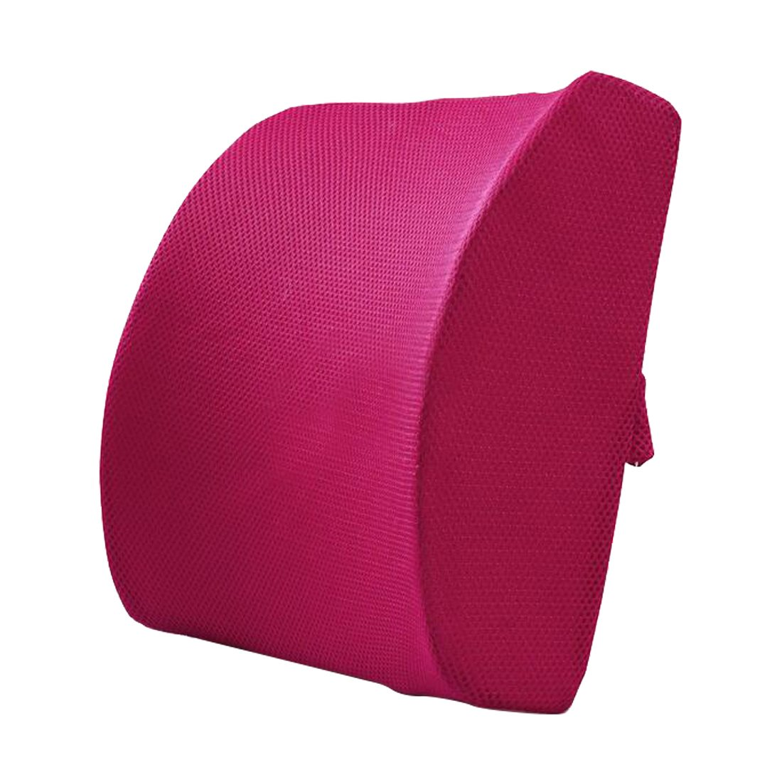 Lumbar Support Pillow Office Chair Back Cushion Back Support Cushion Coffee Luwu-Store