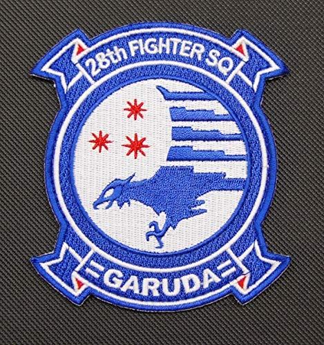 BritKitUSA Ace Combat 28th Fighter Squadron Garuda Embroidered Squadron Patch