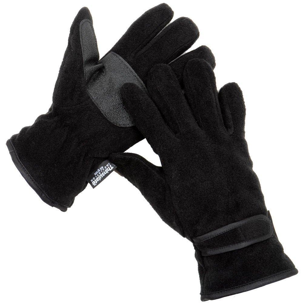 i-Smalls para Hombre RJM Oto/ño Invierno Guantes de Polar t/érmico Thinsulate con Palma de la Mano Grips GL127