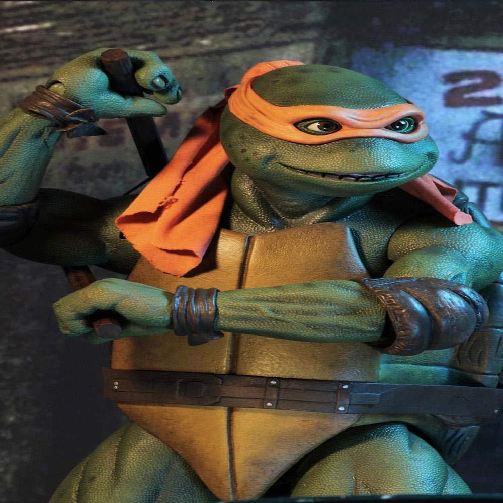 La Colección Clásica Figura De Acción Ninja Tortuga Miguel ...