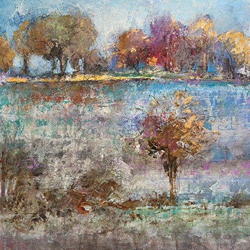 Portfolio Canvas Decor 35X35-Inch Printed Wall Art Painting, Large, Spring Landscape I by Michael - Art Longo Landscapes