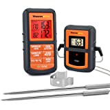 ThermoPro TP08S Wireless Digital Meat Thermometer for Grilling Smoker BBQ Grill Oven Thermometer with Dual Probe Kitchen…