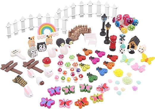 Fleur Fée Micro Paysage Jardinage Fairy Mini Dollhouse Famille Ornement À faire soi-même