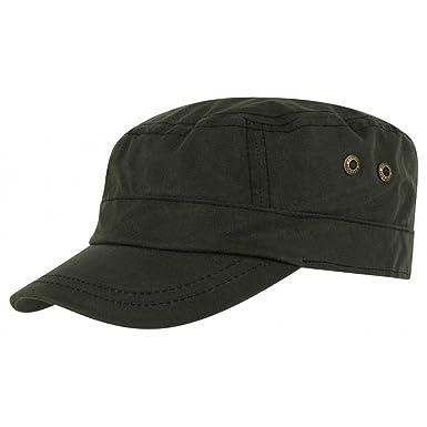 780fa03f302 Stetson Austin Waxed Cotton Army Cap oilskin outdoor cap (S (54-55 cm