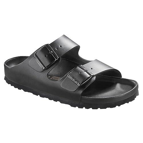 bb701d3c3538 Birkenstock  Monterey  Leather Slide Sandal (Men) Black sandals 44 M ...