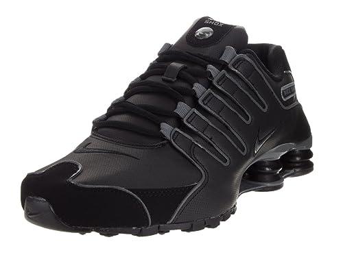buy online 51d7e a28b4 Nike Shox NZ SL Men s Shoes Black Flint Grey 366363-006 (11.5 D