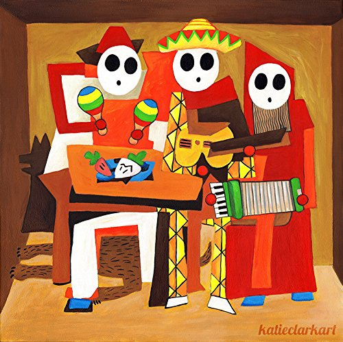 Three Mariachi Guys Art Print