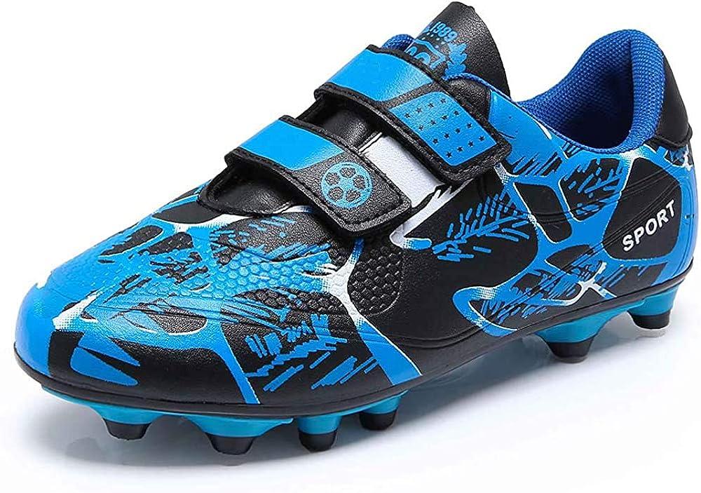 Zapatillas de Fútbol Niño Botas de Fútbol Niña FG/AG Libre Atletismo Zapatos de Entrenamiento Unisex 28-39