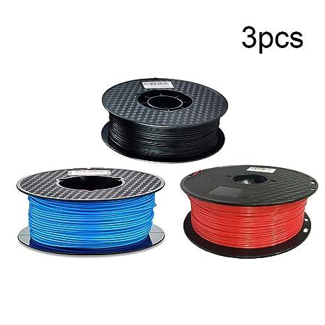 Impresora 3D 3PCS 3 kg Smooth Suministros de la Impresora EPL ...