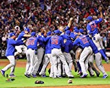 Chicago Cubs - 2016 World Series Champions! Celebration On The Mound! 8x10 Photo Picture
