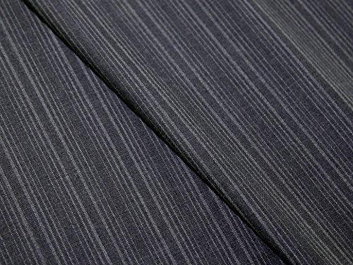 Wool Pinstripe Suiting - 6
