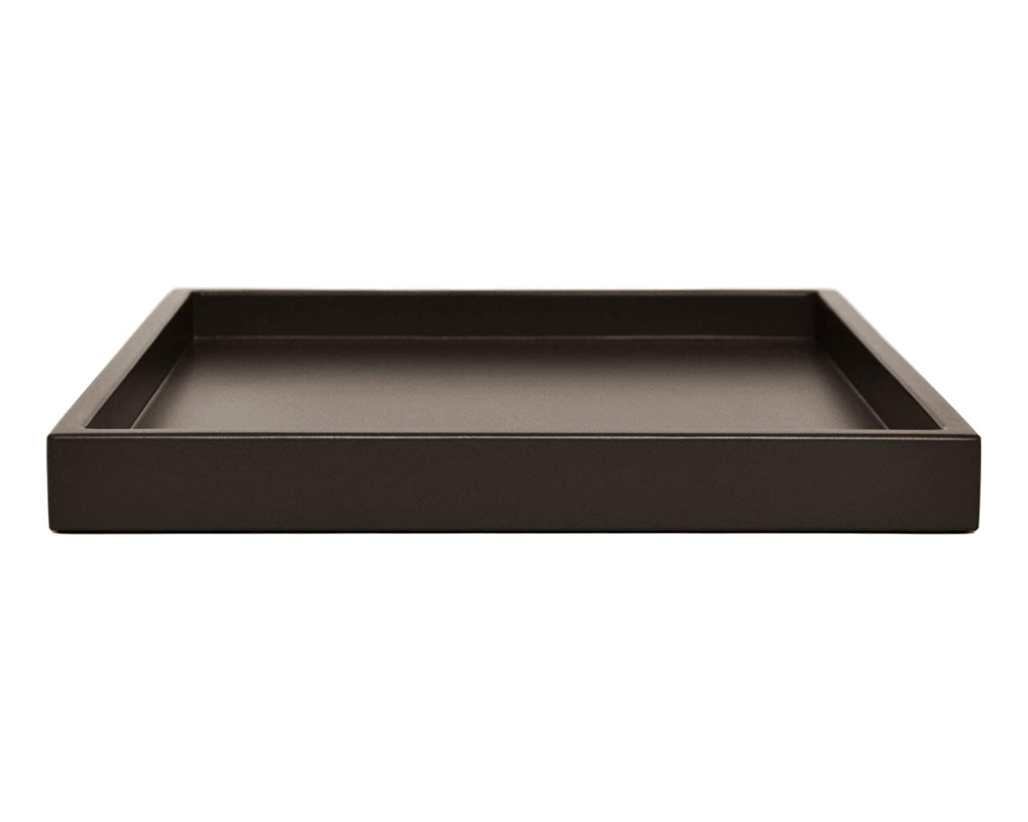 Low Profile Dark Brown Large Tray - Many Sizes
