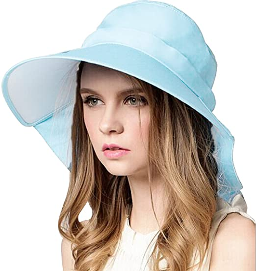 Bienvenu Ladies Sun Visor Wide Large Brim Swimming Beach Sun Hat ... dc8a127bf8f