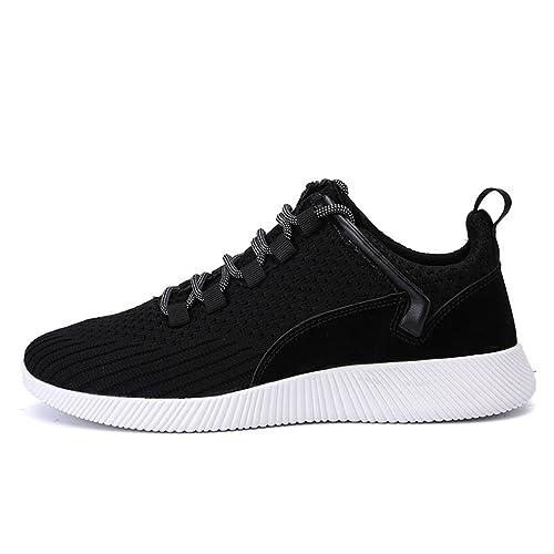LFEU Zapatillas de Botas de Equitación de Lona Hombre: Amazon.es: Zapatos y complementos