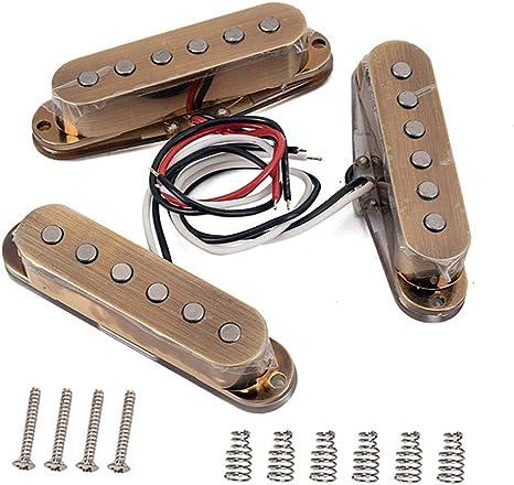 alsu3luy02Ld juego de pastillas vintage para guitarra eléctrica ...