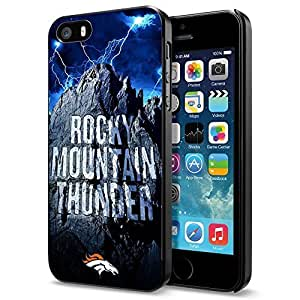 diy zhengNFL Denver Broncos , Cool iphone 5/5s Smartphone Case Cover Collector iphone Black