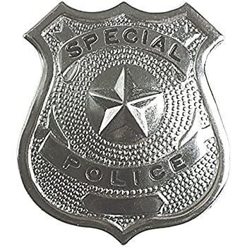 Metal Police Badge Accessory
