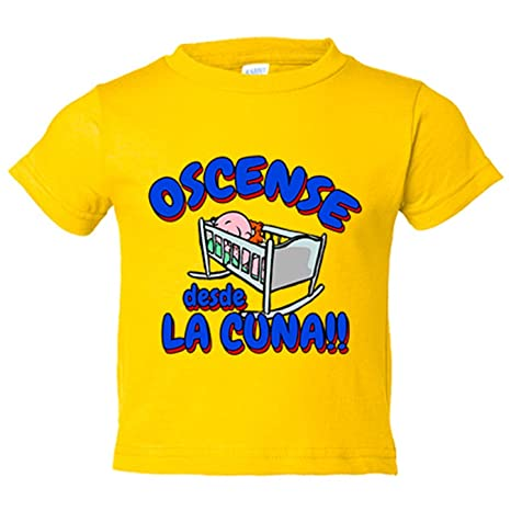Camiseta niño Oscense desde la cuna Huesca fútbol - Amarillo, 3-4 ...
