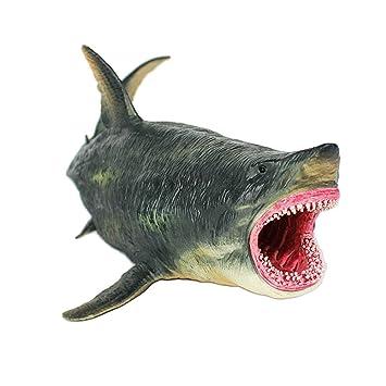 Oncpcare Figuras de tiburón Antiguas para decoración de Acuario, réplica de Acuario de Sealife,