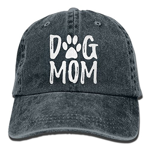 Splash Brothers Customized Unisex Dog Mom Vintage Jeans Adjustable Baseball Cap Cotton Denim Dad Hat