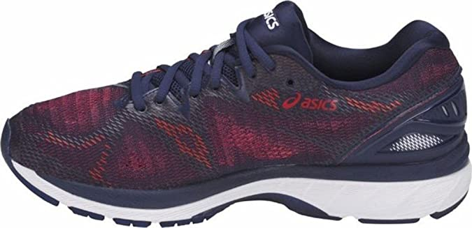 Asics Gel Nimbus 20, Zapatillas de Running para Hombre, Multicolor (Indigo Blue/Indigo Blue/Fiery Red 4949), 48 EU: Amazon.es: Zapatos y complementos