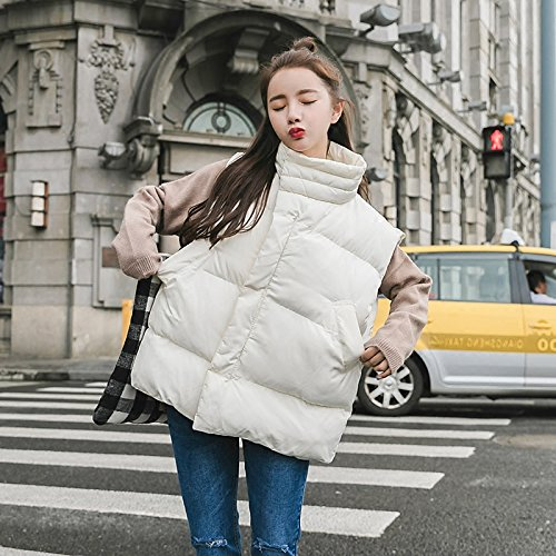 Jacket Vest Into Cotton Black Short Clip Cute A Winter Female Paragraph Coat Thick Xuanku Horse Loose BxF6fqd6