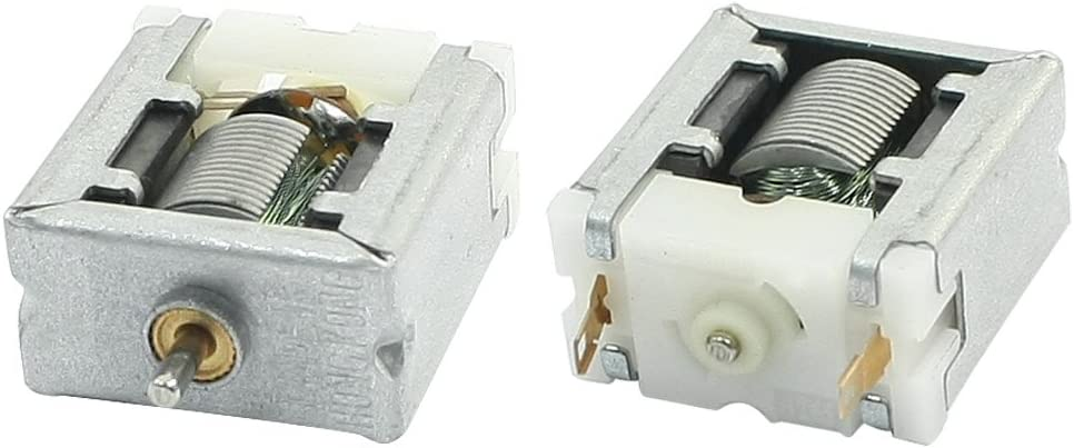 Aexit DC 3V Electric Motors 12000RPM N20 Bare Magnetic Brush Micro Motor Fan Motors for Toys