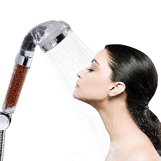 73 opinioni per Soffione Doccia,Bukm doccetta acqua della testa di risparmio ionico Filtro