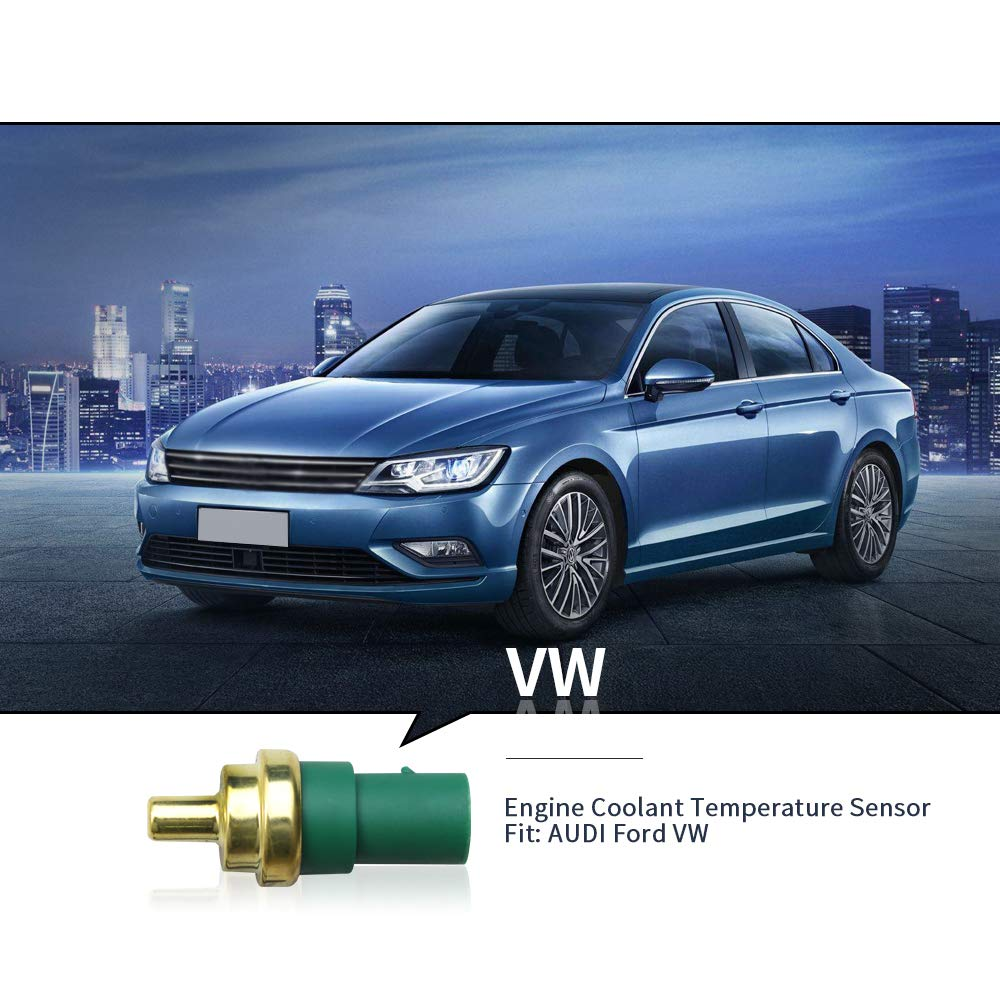 059919501A Coolant Temperature Sensor for Volkswagen Audi with O-Ring and Clip 158-0629