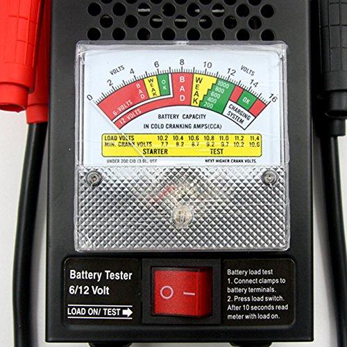 tirol digital car automative vehicular auto battery tester checker analyzer 12v 100a 11street. Black Bedroom Furniture Sets. Home Design Ideas