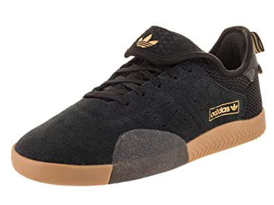 hot sale online 4c06b 4f34b adidas Mens 3ST.003 BlackGold MetallicBlack Skate Shoe 8 Men US