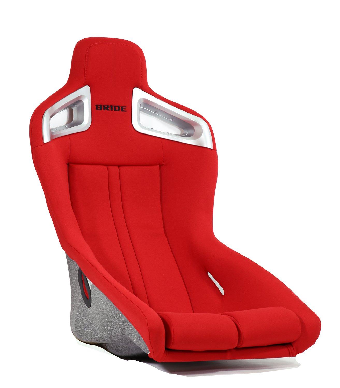 BRIDE (ブリッド) フルバケットシート (2シーター専用)【 A.i.R. 】(FRP製) レッド F86BMF B01I93H23M レッド レッド