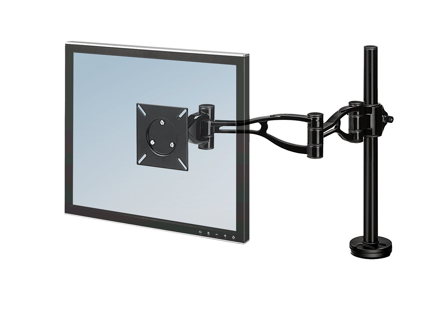 Fellowes Depth Adjustable Monitor Arm (8041601) Monitor Accessories