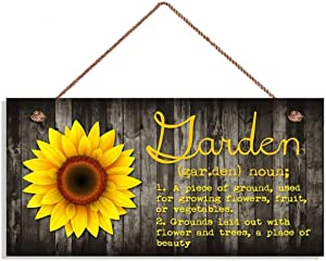 ROONASN Garden Decoration Sign,for Garden Shed Summer House Sign Gifts 5
