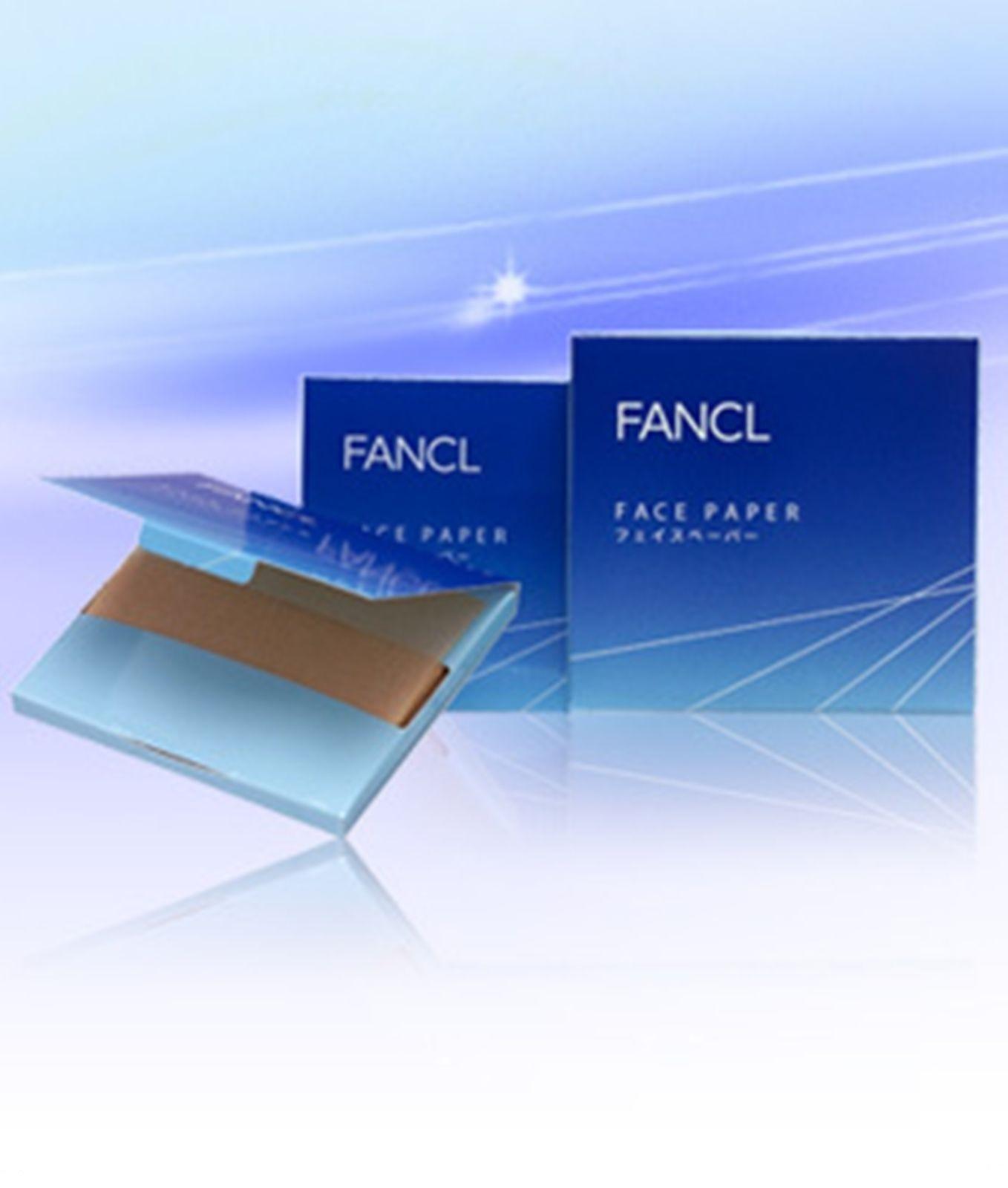 Fancl Extra High Sebum Absorption Face Oil Blotting Paper 100pcs X 3 Japan Made