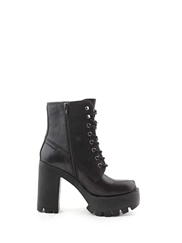 a10734a9526 Image Unavailable. Image not available for. Color  Windsor Smith Women s  Elineblack Black Leather Ankle Boots