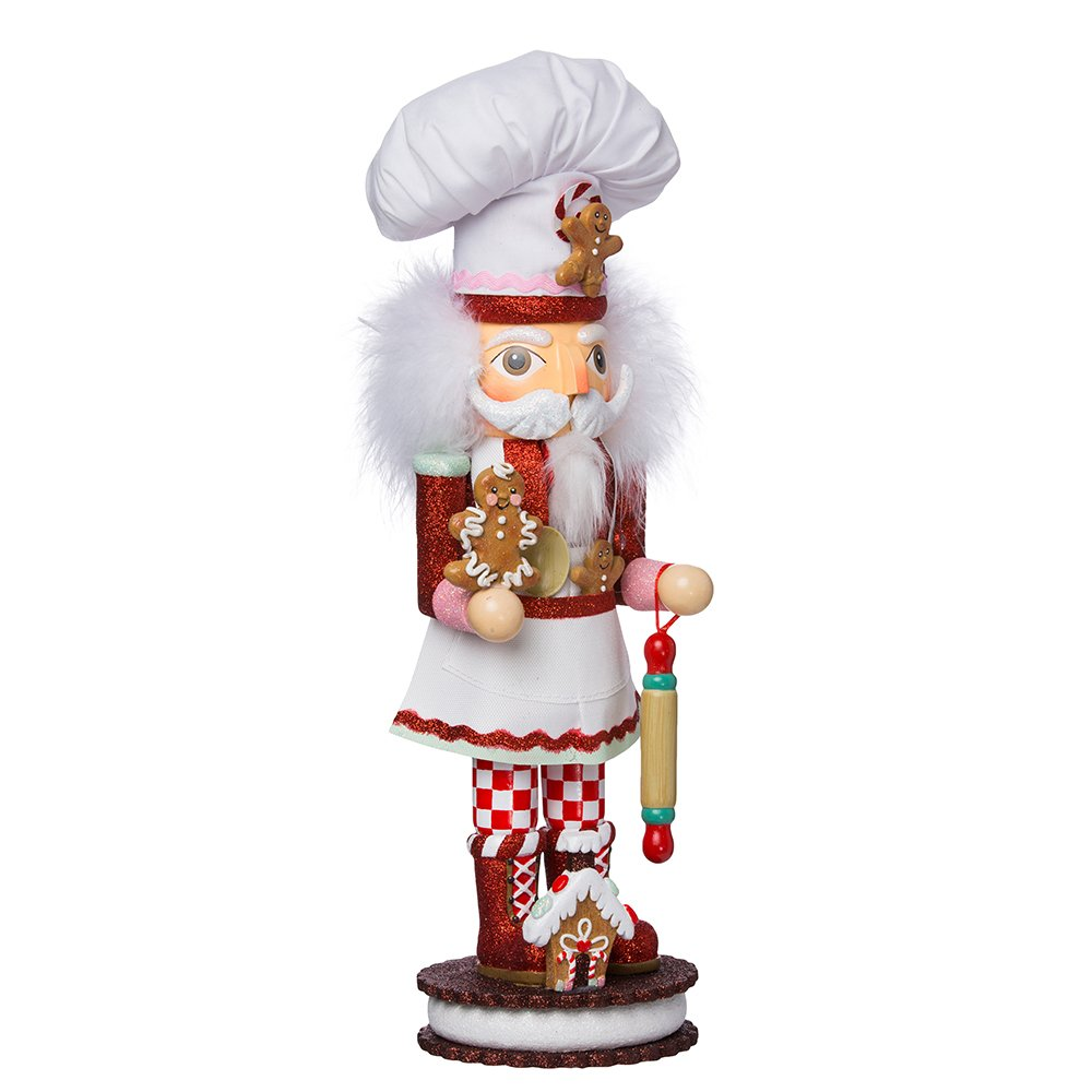 Kurt Adler 15-Inch Gingerbread Chef Nutcracker