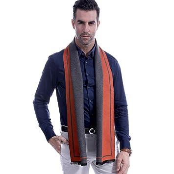 Ju Sheng Weicher Warmer Schal Der Wolle Der Männer Luxuriöses