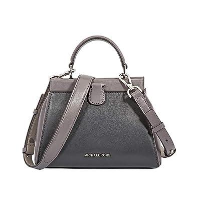 22e57ad08df7 Amazon.com: Michael Kors Gramercy Frame Small Leather Satchel: Shoes